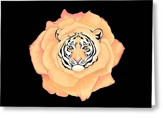 Bengal Blossom Greeting Card