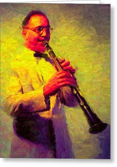 Benny Goodman Greeting Card