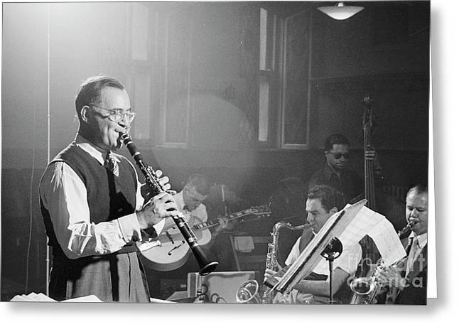 Benny Goodman Orchestra  Greeting Card