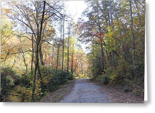Bent Creek Road Greeting Card