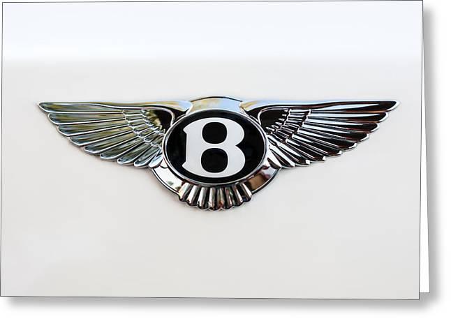 Bentley Emblem -0081c Greeting Card by Jill Reger