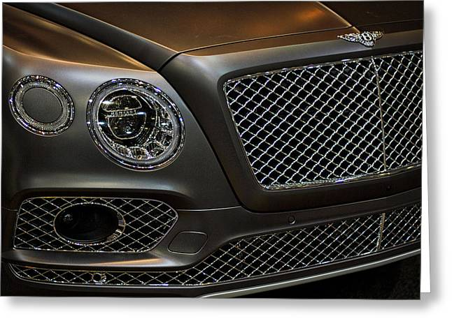 Bentley Front End Greeting Card