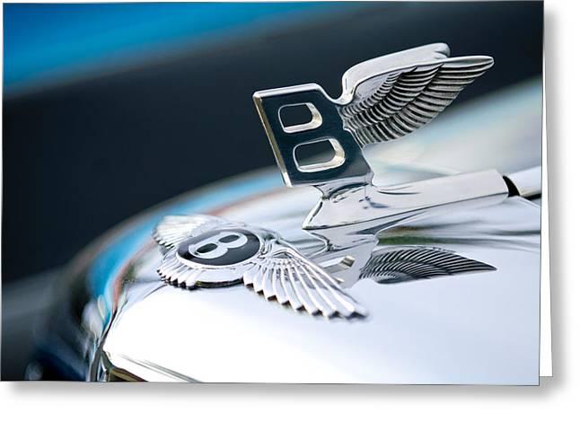 Bentley Hood Ornament Greeting Card