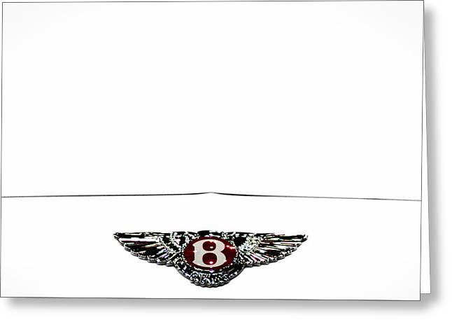 Bentley Insignia Greeting Card