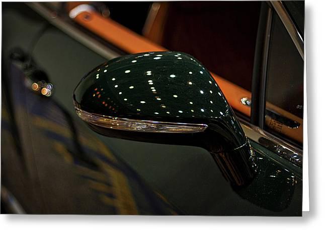 Bentley Side View Mirror Greeting Card