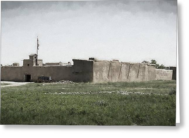 Bent's Old Fort Greeting Card by Jon Burch Photography