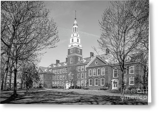Berea College Draper Building Greeting Card by University Icons