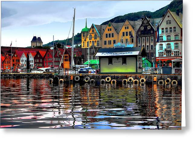 Bergen Colors Greeting Card