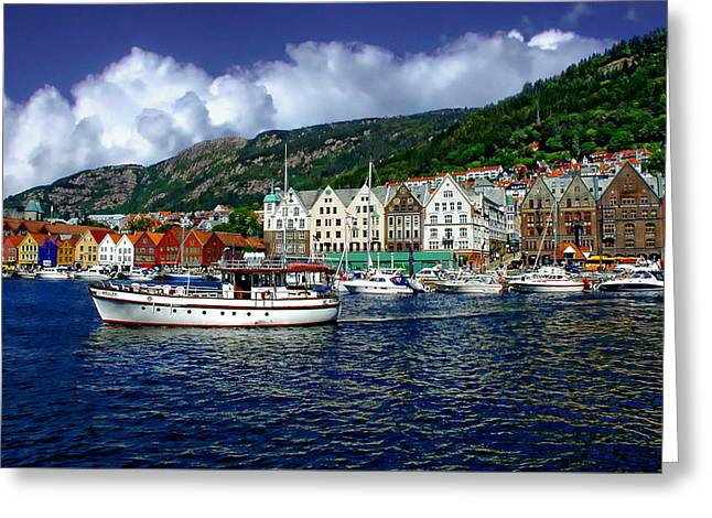 Bergen - Norway Greeting Card
