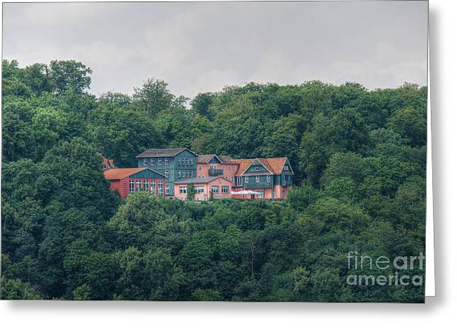 Berghotel Rosstrappe Greeting Card by Mickey At Rawshutterbug