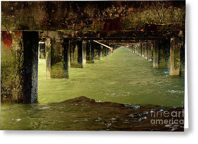 Berkley Pier California Greeting Card
