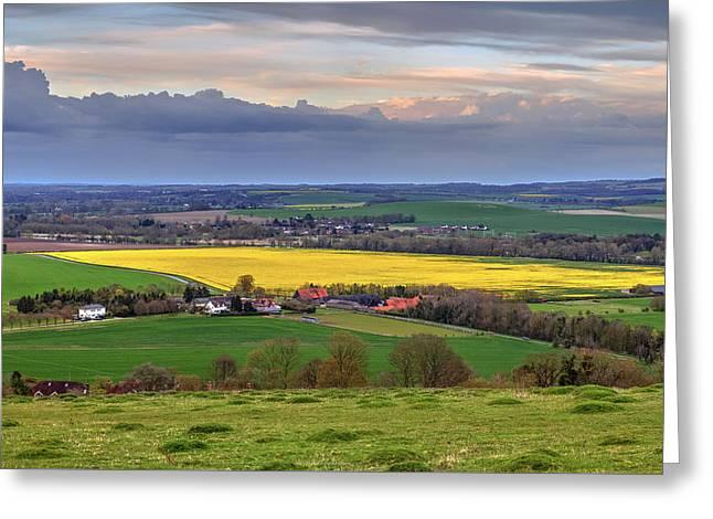 Berkshire - England Greeting Card by Joana Kruse