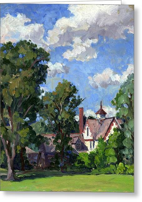 Berkshires Cottage Greeting Card by Thor Wickstrom