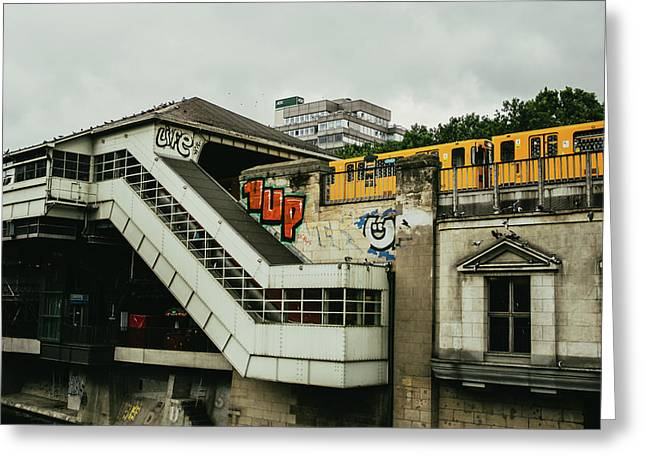 Berlin S-bahn Station Greeting Card