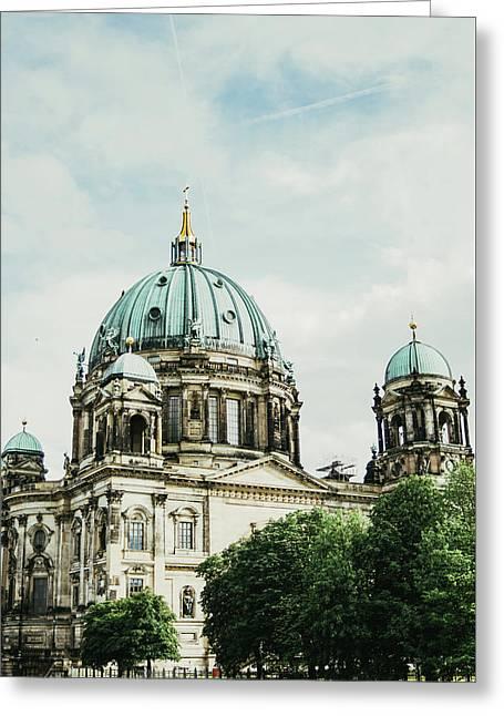 Berliner Dom Greeting Card