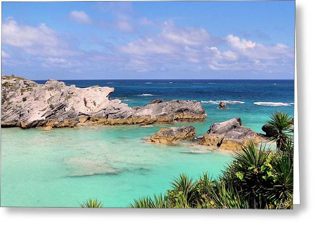 Bermuda Seascape Greeting Card