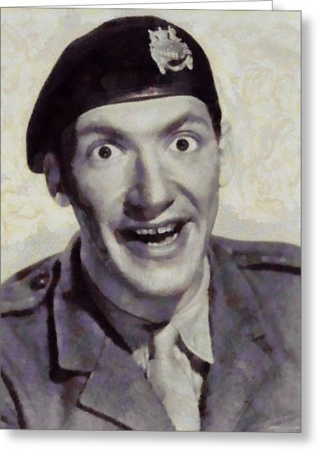 Bernard Bresslaw, Carry On Actor Greeting Card