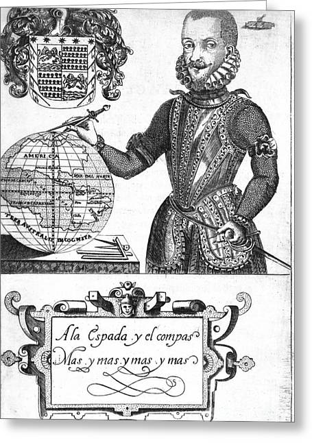 Bernard De Vargas Machuca, Spanish Greeting Card by Middle Temple Library