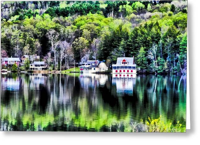 Bernard Pond Greeting Card