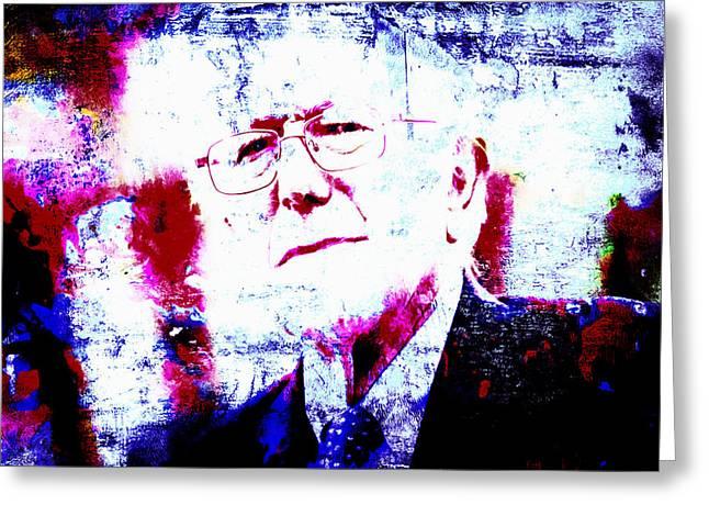 Bernie  Greeting Card by Brian Reaves