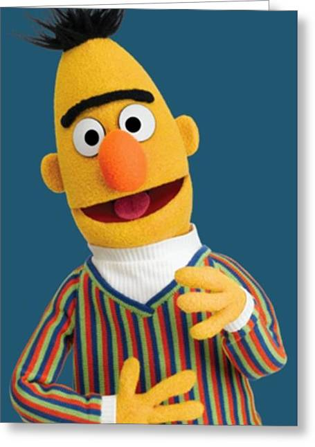 Bert Greeting Card