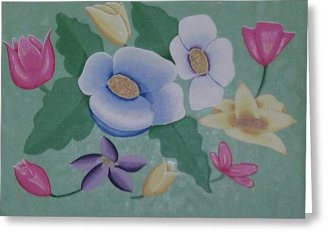 Best Canvas Paintings Greeting Card