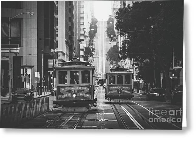 Best Of San Francisco Greeting Card by JR Photography