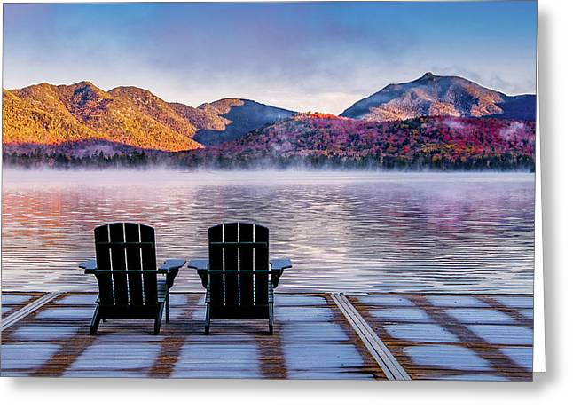 Best Seats In The Adirondacks Greeting Card
