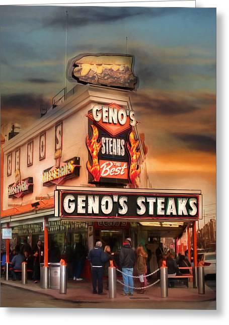 Best Steaks In Town Greeting Card