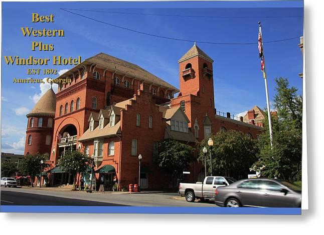 Best Western Plus Windsor Hotel -2 Greeting Card