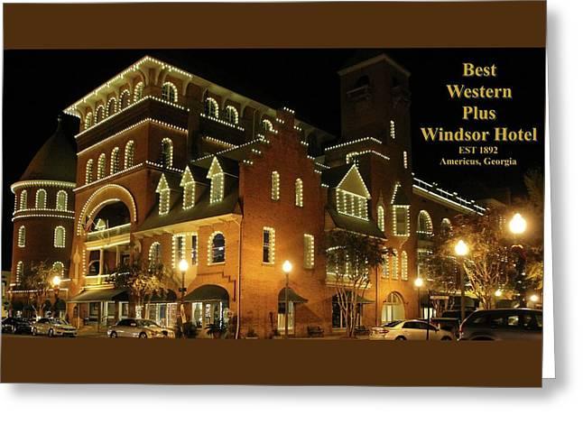 Best Western Plus Windsor Hotel - Christmas -2 Greeting Card