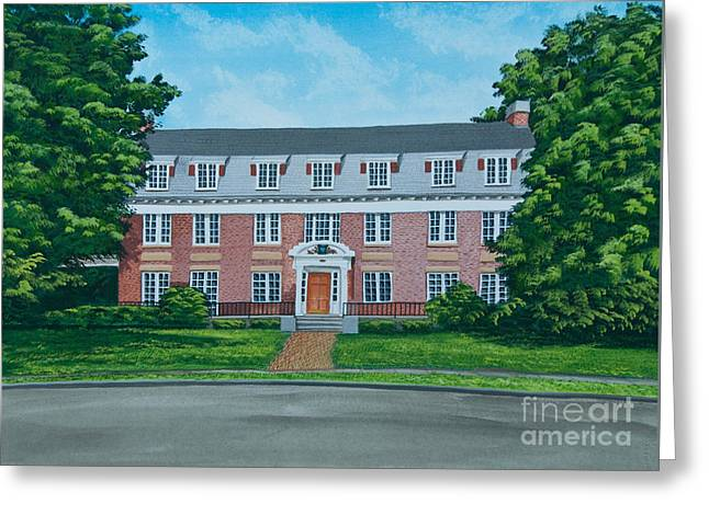 Beta Theta Pi Greeting Card by Charlotte Blanchard