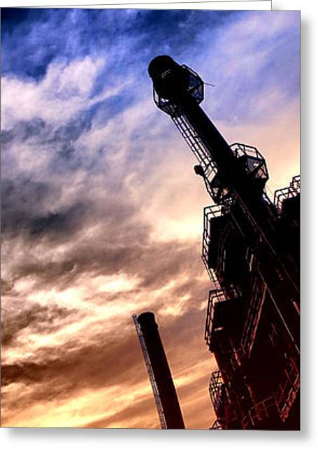 Bethlehem Steel Glory Greeting Card by Olivier Le Queinec
