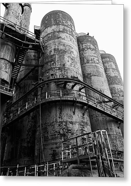 Bethlehem Steel Up Close Greeting Card