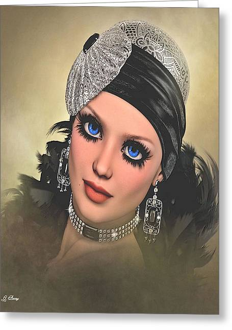 Bette Davis Eyes 3 Greeting Card