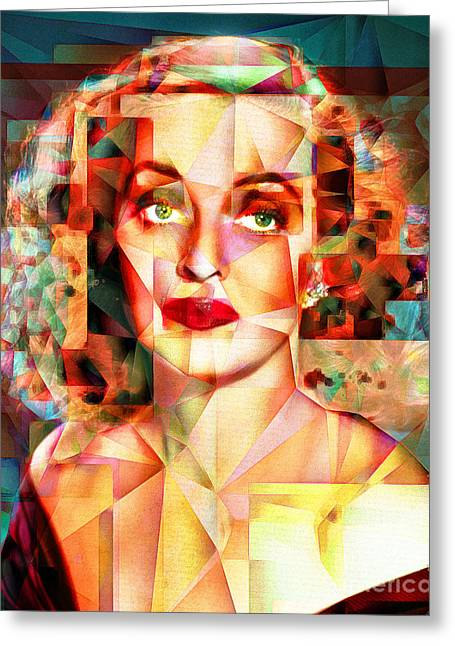 Bette Davis What Ever Happened To Baby Jane 20170418 Greeting Card