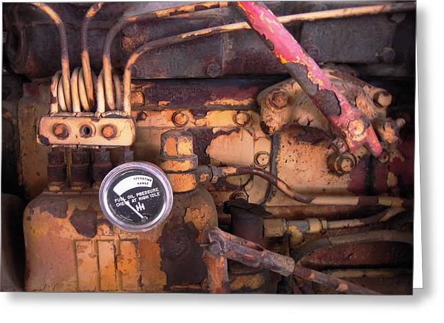 Better Check That Oil Pressure Greeting Card by Don Struke
