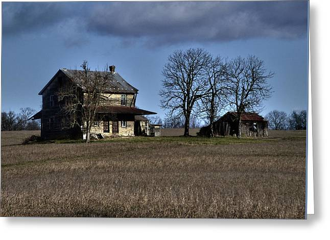 Greeting Card featuring the photograph Better Days by Robert Geary