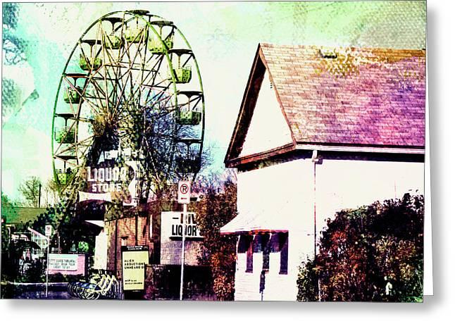 Betty's  Ferris Wheel Greeting Card