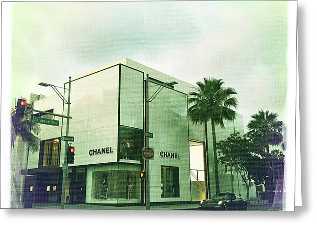 Beverly Hills Rodeo Drive 13 Greeting Card