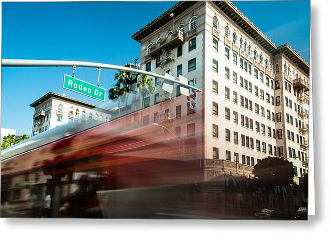 Beveryly Hills Two Greeting Card by Josh Whalen