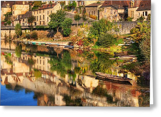 Beynac-dordogne France Greeting Card