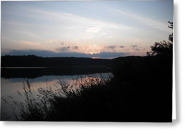 Beyond Dusk Greeting Card by Candace Shockley