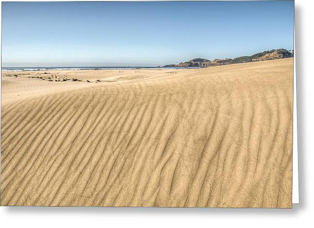 Beyond The Dunes Greeting Card by Kristina Rinell