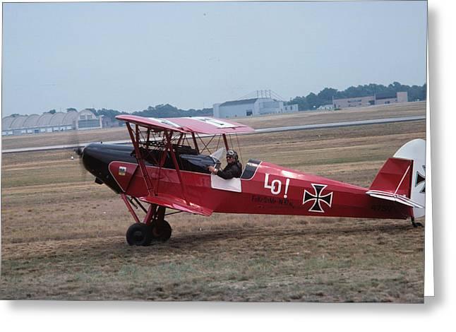 Bi-wing-7 Greeting Card