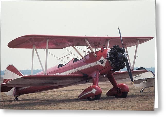 Bi-wing-9 Greeting Card