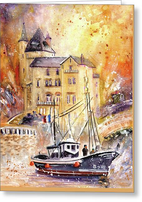 Biarritz Authentic Greeting Card
