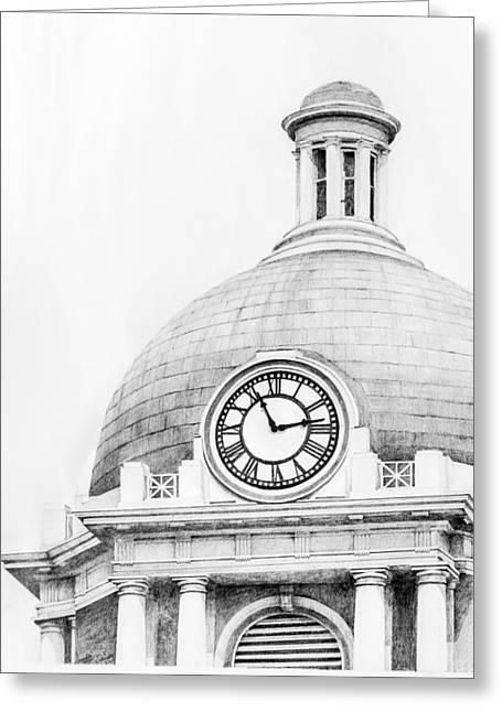 Bibb Courthouse 1 Greeting Card