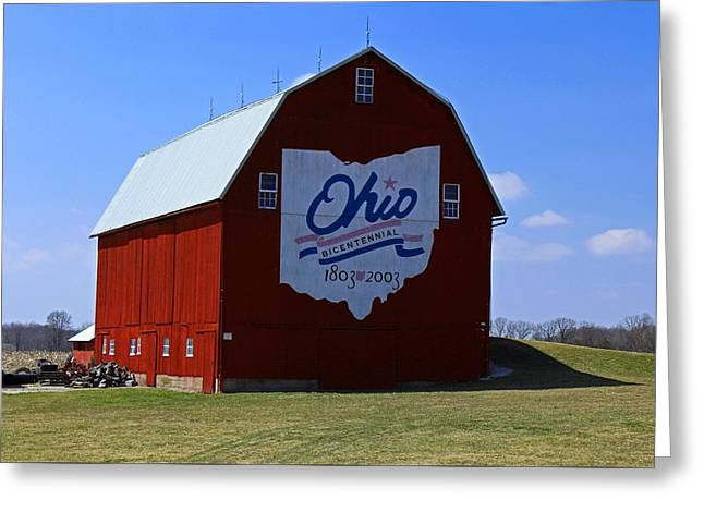 Bicentennial Barn  Greeting Card