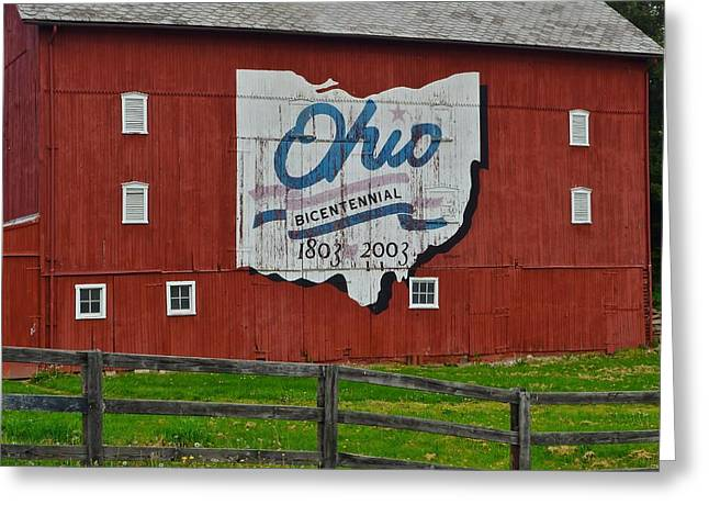 Bicentennial Ohio Greeting Card